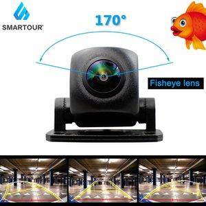 Smartour HD 1920*1080P Night Vision Fisheye Lens Vehicle Reverse Backup dynamic Rear View car Camera Universal Track camera
