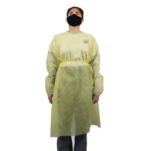 Unisex Koruyucu İzolasyon Giyim Koruyucu Giysi Tek Abiye One Time Sigara YAĞMURLUK 2 renk Koruma Suits dokuma LJJK2488