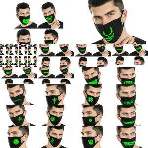 Karanlık Neopren Face Maskeler Lfysi için Kafatası Glow Büyük İşçilik Goedkoopste Sıcak Satış İyi Ucuz Web Siteleri Maske