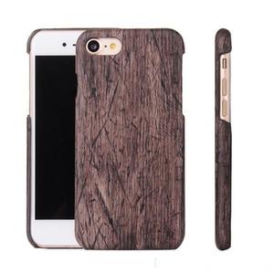 도매 최신 고급 아이폰 6 6plus 아이폰 7 7plus 휴대 전화 케이스에 대한 실제 대나무 나무 하드 PC 뒤 표지 케이스를 부드럽게