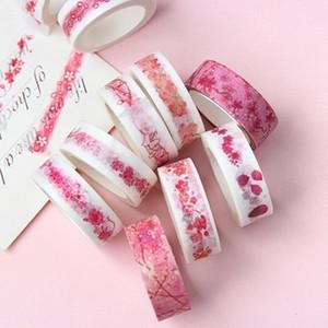 Животные New Pink Memories Kawaii декоративные цветы Washi Diy Скрапбукинг Маскировка ленты школа канцелярских товаров