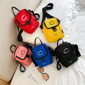 Moda Donne Borse Tracolle Tela CHAM Crossbody Bag Petto stampa della lettera Travel Design Fanny Pack Outdoor Satchel Borse Lotta alle INS