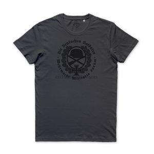 2019 Новый бренд T Shirt Мужчины с коротким рукавом Смешные Maglietta вермахта Милитария Форум Die Deutschen Soldaten T-Shirt