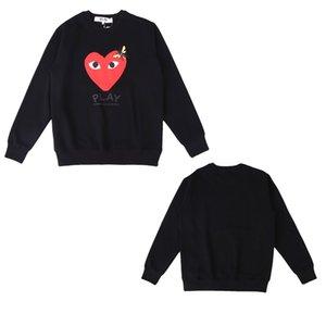 f 2020 neue heiße Männer Pullover Männer-Frauen-Qualitäts-Rundhalsausschnitt Langarm Sweater Mens Casual-Sweatshirt Schwarz Größe M-2XL