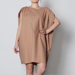 BjCre perfil nicho diseño del vestido del color sólido 2020 nueva VGH elástico sin mangas recto con cuello en V