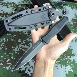 Yeni Geliş 2 Renk Benchmade Infidel 133 çift kenarlı Taktik Stright bıçak Sabit Bıçak bıçak Açık Kamp BM133 bıçak ücretsiz nakliye