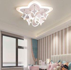 Cgjxs acrílico Estrellas de la personalidad creativa llevó la lámpara del dormitorio Salón Comedor Estudio caliente Fashion Room Lámpara moderna Myy