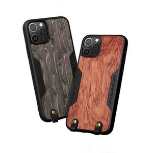 Fashion Wood Phone Case for iPhone 12 SE2 11 11Pro 11Pro Max XSMAX XR XS X 7P 8P 7 8 Popular Anti-Fall Protective Back Cover 4 Styles