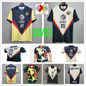 2020 2021 Club America Soccer Jersey R.MARTINEZ GIOVANI CASTILLO G.RODRIGUEZ P.AGUILAR PERALTA Sambueza personnalisés Homme Femmes Shirt Enfants Football