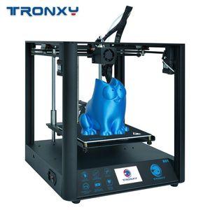 Tronxy 3D D01 Printer silencioso Motherboard 3D Imprimir Guia Kit Linear Rail Titan Extrusora Alta Precisão Full Metal imprimante