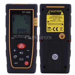 30Pcs Lot Laser Distance Meter 100m Rangefinder Trena Tape Range Finder Build Measure Device Ruler Test Tool