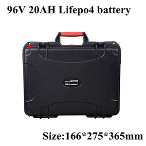 Lifepo4 96v 20Ah Battery Pack Lifepo LFP 35A BMS 109.5v for Inverter Energy EV Power Supply Ebike Scooter 3000W+ 5A Charger