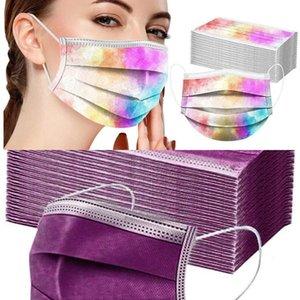 SUWA 50 Caja Zackate PCS Paquete cara Desechable - 3 capas transpirable contra la contaminación por polvo protección gratuita protectores bucales protectores (