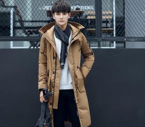 Hot Sale Winter Jacket Men Parkas New Brand Warm Long Hooded Male's Down Jacket Plus Size Female Windbreaker99