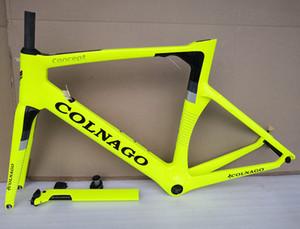 Кольнаго концепция велосипед рама T1100 UD велосипед рамы дороги углерода рама велосипеда хорошее качество углерода 15 цветов