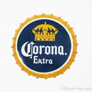 Bar Coffe Tin Craft poster della barra di metallo Cap Restaurant Cap Corona Birra Segno Per rotonda di birra del metallo vintage extra bottiglia Lxl303a negozio Desig bbyMd