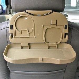 Car -Hot New Folding Auto Car Back Seat Table Drink Cup Coffee Cup Tray Holder Stand Desk Hot Interior PVXF#