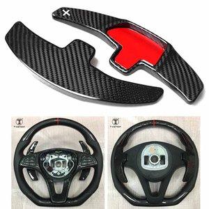 Carbon Fiber Steering Wheel Paddle Shift For Benz C180L C260L GLE CLA C200L GLC-Class S-Class 2015-2016 & E300 E200 2016-2017