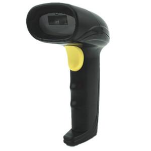 High Performance 1D 2D Bi-directional USB Cable Laser Barcode Scanner Handheld Barcode Scanning Gun for Supermarket Shop stores