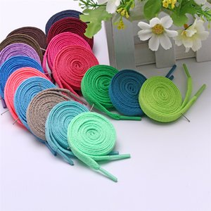 Hot Selling Factory Direct Sale Four Single-Layer Flat Shoelaces For Men And Women In Stock Color Flat Shoelaces Available In 29 Colors