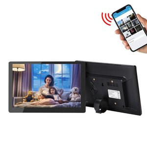 1280*800 IPS panel 16GB smart phone App control 10 inch wifi digital photo frame