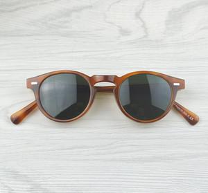 Wholesale-Gregory Peck di marca uomini donne occhiali da sole Oliver Peoples Vintage polarizzato OV5186 retrò Occhiali da sole OV 5186 con il pacchetto completo