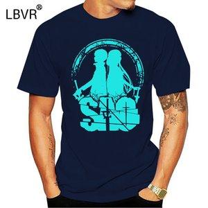 Algodón purificado T Shirts Verano de Arte Online Espada Tee Shirts SAO Amor ligero hombres redondas del collar corto de la manga T-Shirts