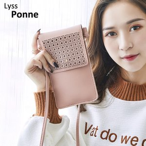 Tounch Screen Purse Cellphone Clutch Bag Fashion Daily Use Card Holder Small Summer Shoulder Bag for Women For Iphone Samsung