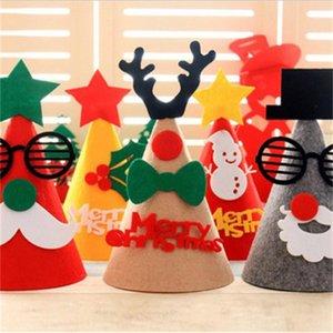 2020 New Selling Christmas decorations Christmas hats children adult hats festive party dress up Christmas supplies