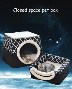 Küçük Köpekler İçin Orta Köpekler Pet Yatak Acessórios para caes için Sevimli Köpek Evi Köpek Yatak Kış Evi