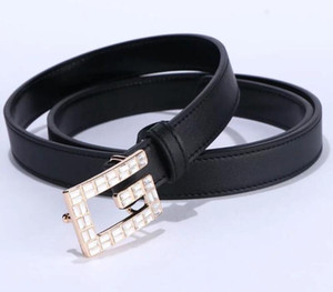 New high quality leather belt designer belts men women pin buckle black business trouser strap hot sale new trendy belt 23xx