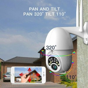 360-degree Panoramic Ciew Smart Practical Monitor Wireless WiFi Connection Camera Outdoors Waterproof 1080p Dome Camera