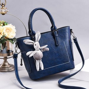 handbag bucket bag lady 2020 new European and American fashion large capacity messenger bag