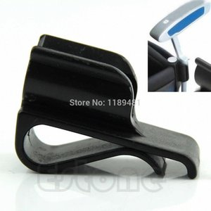 Wholesale- Golf Bag Clip On Putter Putting Organizer Club Durable Ball Marker Clamp Holder fhtO#