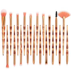 Diamond 20Pcs Kit Makeup Brushes Set Powder Eye Shadow Foundation Blend Blush Lip Cosmetic Beauty Soft Make Up Brush Tool