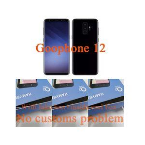 قائمة جديدة 5G Goophone 12 مصغرة الهاتف المحمول I12 الموالية ماكس بطاقة إفتح الهاتف المحمول بلوتوث كاميرا 13MP الأخضر مع الشحن اللاسلكي