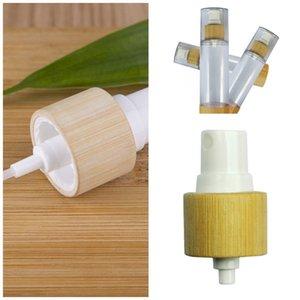 Les bouteilles vides désinfectant pour les mains de pulvérisation de bouteille de parfum en plastique Bambou Quantitative Pompe Thermos séparée Mise en bouteille 7 4zb F2