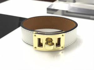 luxury designer jewelry women bracelets single loop adjustable length h bracelet mens bracelets stainless steel jewelry leather bangles 2020