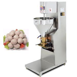 Makine Ticaret Köfte Şekillendirme Makinesi Yüksek Kaliteli Paslanmaz Çelik Tavuk Balık köfte Şekillendirme Elektrikli Köfte