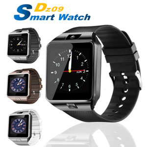 DZ09 montre Smart Watch Portable Montre-bracelet Montre-bracelet SIM Montres carte TF pour Iphone Samsung Smartphone Android Smartwatch PK Q18 V8