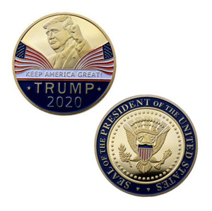 Trump Speech Commemorative Coin America President Trump 2020 Collection Coins Crafts Trump Avatar Keep America Great Coins SN1865