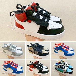 Nike Air Jordan 1 2020 UNC Yüksek OG 1s Gençlik Çocuk Basket Doğum Bebek Bebek Bebek Eğitmenler Erkekler Kızlar Spor Ayakkabılar kapalı Beyaz Üniversitesi Mavi Ayakkabı