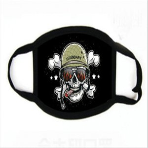 Fa Sip Multi Den Cartoon Dener Maske Wit Transparent Augen Sield 2 Free Filter Außen Wasale Clot Mout Mask # 126