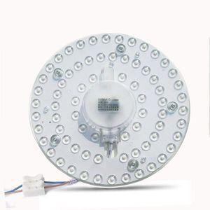 12W 18W 24W Panneau lumineux LED SMD 2835 Module lampe d'économie d'énergie 220V LED ronde Conseil plafond lampe Applique Éclairage Intérieur