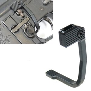 HQ 223 Tactical Rifle MAP Bolt Catch-Extender Entriegelungshebel Schalter Aluminium für AR15 Verbesserte Bad Lever Beidhändig Berg-On Side Plate