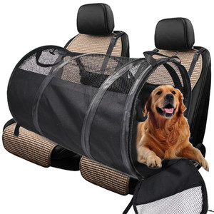 Travel Dog Car Seat Cover Portable Pet Carriers Bag Carrying For Cats Dogs Safety Breathable Dog Car Seat Pets Tote BagNW*