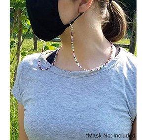 Mascarilla de Extensión de Glassses Máscaras cuerda de seguridad conveniente práctico de seguridad Máscara Resto titular del oído cuerda de la caída en una secuencia del cuello para la máscara anti-pérdida de correas