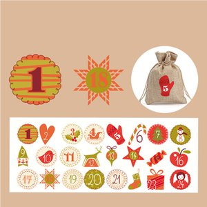 2020 christmas decorations manufacturers stock Christmas gifts Holiday stickers stickers Christmas party gifts candy cookies stickers