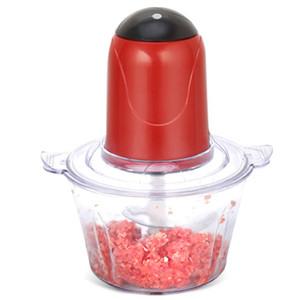 Potente procesador automático eléctrico máquina de picar carne eléctrica de múltiples funciones Interruptor de la carne Slicer Cortador Blender (E