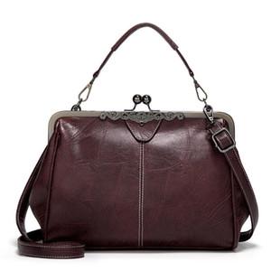 Vintage Leder-Handtaschen Spanische Marke Tote Qualitäts-Frauen-Beutel-beiläufige Frau PU-Leder-Tasche Ärzte Schultertasche für Damen